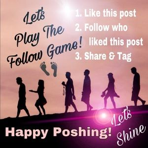 Follow Game | Poshmark Thank you for sharing!